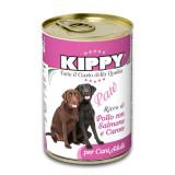 Pate Kippy dog, cu pui, somon si morcov, 400g