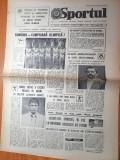 Sportul 3 august 1984-echipa de gimnastica campioana olimpica,art. poli iasi