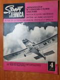sport si tehnica aprilie 1971-aeronautica romaneasca,autoturismul romanesc dacia