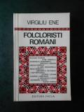 VIRGILIU ENE - FOLCLORISTI ROMANI