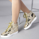Pantofi sport dama Sophia auriu