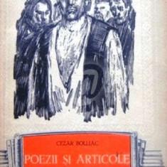 Poezii si articole - Editie princeps