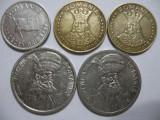 Romania (65) - 10 Lei 1992, 20 Lei 1992, 1993, 100 Lei 1992, 1994