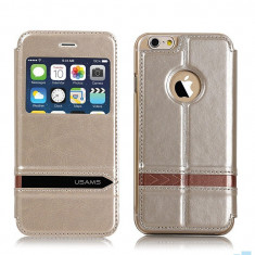 Husa Usams Merry Series Apple Iphone 6 Plus 5.5 inch Gold