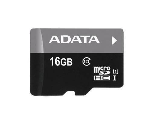 Card ADATA Micro SDHC Premier 16GB UHS-I U1 Clasa 10 + adaptor SD AUSDH16GUICL10-RA1