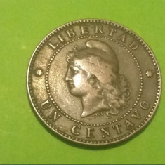 Monedă 1 Centavo 1890 Argentina