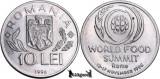 1996, 10 Lei - FAO - Romania