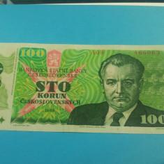 100 Korun 1989-Cehoslovacia-XF++++++