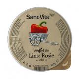 Sano Vita Pasta vegetala tartinabila din linte rosie, 100 g