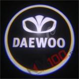 Proiectoare in portiera cu logo DAEWOO - NOU! 5 Watt (set 2 buc)