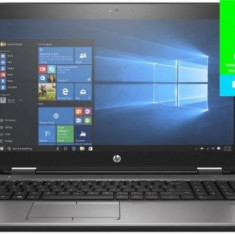 Laptop HP ProBook 650 G3 (Procesor Intel® Core™ i7-7820HQ (8M Cache, up to 3.90 GHz), Kaby Lake, 15.6inchFHD, 8GB, 512GB SSD, Intel® HD Graphics 630,