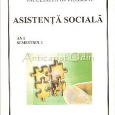 Asistenta Sociala. An I. Semestrul I. ID - Petru Bejan