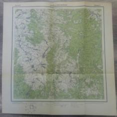 Sulta si Csik-Szereda// harta Serviciul Geografic Armatei 1916