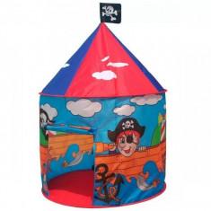 Cort de joaca model pirati cu ilustratii grafice