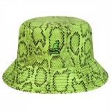 Cumpara ieftin Palarie Kangol Snakeskin Bucket Verde (L,XL) - Cod 7871514355468