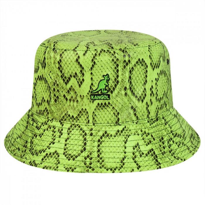 Palarie Kangol Snakeskin Bucket Verde (L,XL) - Cod 7871514355468