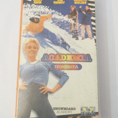 Caseta video VHS originala film tradus Ro - Academia Traznita