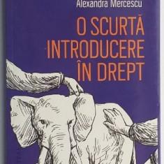 O scurta introducere in drept - Raluca Bercea, Alexandra Mercescu
