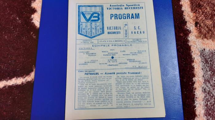 program Victoria Buc. - SC Bacau