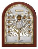 Icoana Argint Pomul Vietii 17.5x22.5cm Auriu Cod Produs 2774