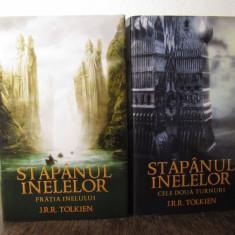 FRATIA INELELOR , CELE DOUA TURNURI-J.R.R. Tolkien ( 2 VOL )