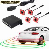 Senzori de parcare spate STEELMATE PTS410EX cu aspect OEM, fara display CarStore Technology