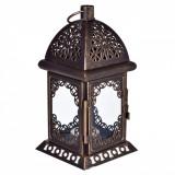 Felinar decorativ, 10×23 cm,negru