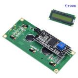 Modul LCD Display 1602 + I2C 16X2 caractere afisaj galben Arduino (d.833)