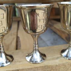 Set 5 pahare mici argint evreiești