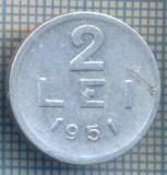 AX 721 MONEDA- ROMANIA - 2 LEI -ANUL 1951 -STAREA CARE SE VEDE