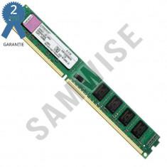 Memorie calculator RAM 2GB Kingston DDR3 1333MHz SLIM, DDR 3, 2 GB, Single channel