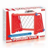 Poarta fotbal pentru copii rosie