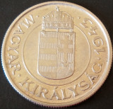 Moneda istorica 2 PENGO - UNGARIA, anul 1943  *cod 1913