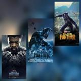 Poster Pantera Neagra Black Panther Killmonger Shuri Marvel Afis A3