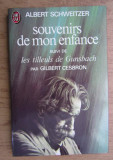Albert Schweitzer - Souvenirs de mon enfance