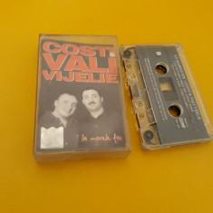 CASETA AUDIO MANELE COSTI/VALI VIJELIE-LA MARELE FIX ORIGINALA NOVA MUSIC