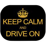 Set 2 parasolare Keep Calm and Drive On Eurasia 10940Initiala
