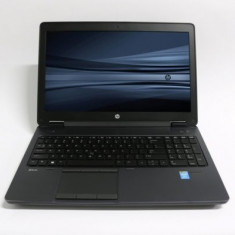 Laptop HP zBook 15, Intel Core i7 Gen 4 4800MQ 2.7 Ghz, 16 GB DDR3, 256 GB SSD, Placa Video NVIDIA Quadro K2100M, WI-FI, Bluetooth, Tastatura Ilumin