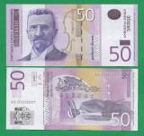 = SERBIA - 50 DINARA – 2011 - UNC    =