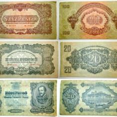4881-I-Bancnote Ungaria speciale stare buna circulate. Pret/buc.