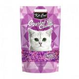 Asternut Igienic Pentru Pisici Kit Cat Crystal Clump Lavender Meadow, 4 L