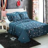 Cuvertura de pat + 4 Fete de Perna - Pat 2 Persoane - 100% Bumbac - CP5-02