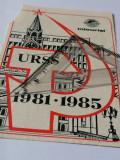 Cumpara ieftin BILET  /FLAYER TURISM URSS