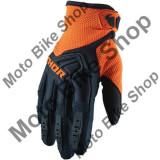 MBS Manusi motocross Thor Spectrum, negru/portocaliu, S, Cod Produs: 33305806PE