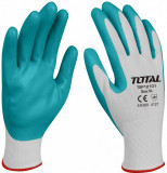 Manusi de protectie - nitril + textil - XL, Total