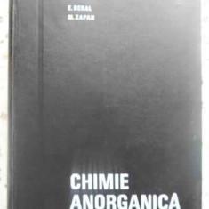 CHIMIE ANORGANICA - E. BERAL, M. ZAPAN