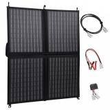Încărcător panou solar pliabil 80 W 12 V, vidaXL