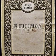 Opere - Nicolae Filimon, 1957