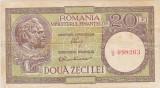 ROMANIA 20 LEI ND (1947,1948,1950) F LUCA, RUBICEC RPR 36
