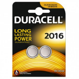 Set 2 baterii 3V CR2016, Duracell